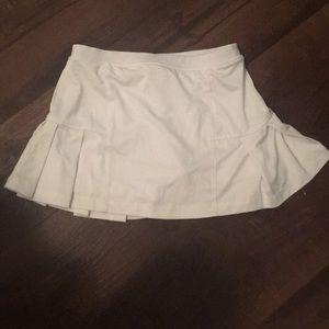 COPY - Girls 5/6 little miss tennis white skirt w…